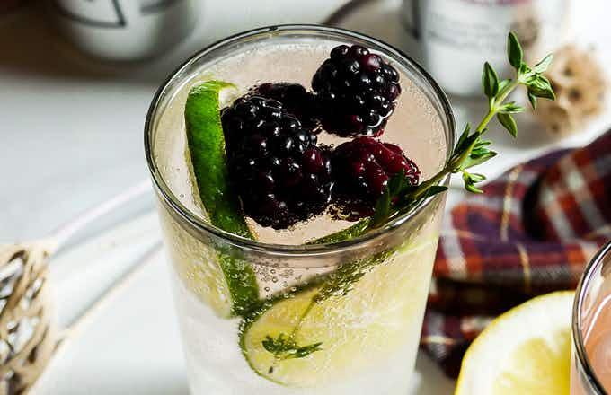 Smirnoff Seltzer Berry Lemonade and Pisco