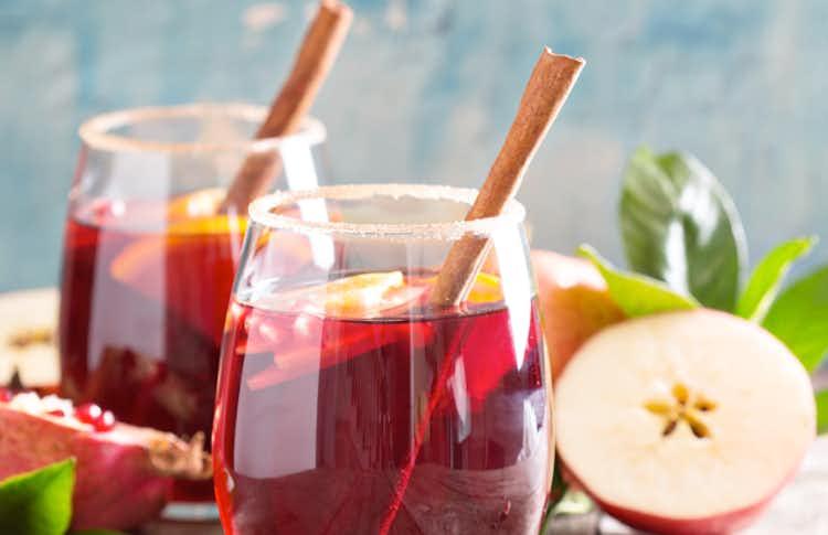 Winter Fruit Sangria