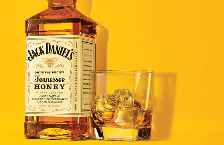 Jack Honey on the Rocks