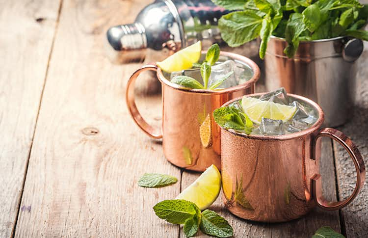 Schweppes Moscow Mule