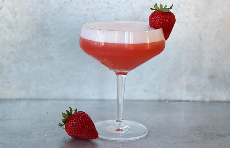 Strawberry Tequila Sour