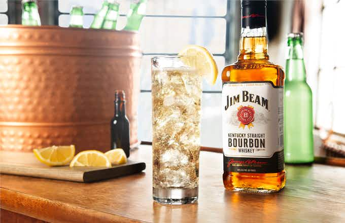 Jim Beam 174 Amp Ginger Ale Recipe Drizly