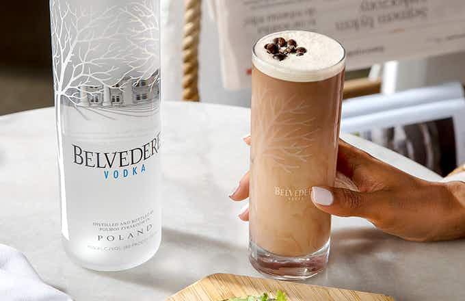 Belvedere Iced Latte