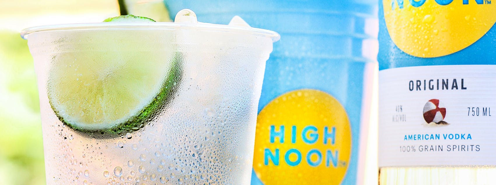 High Noon Vodka Soda