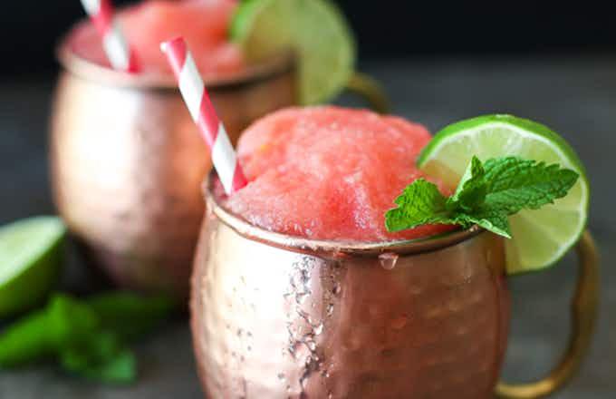 Frozen Watermelon Moscow Mule