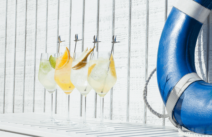 Grey Goose Le Citron Le Grand Fizz