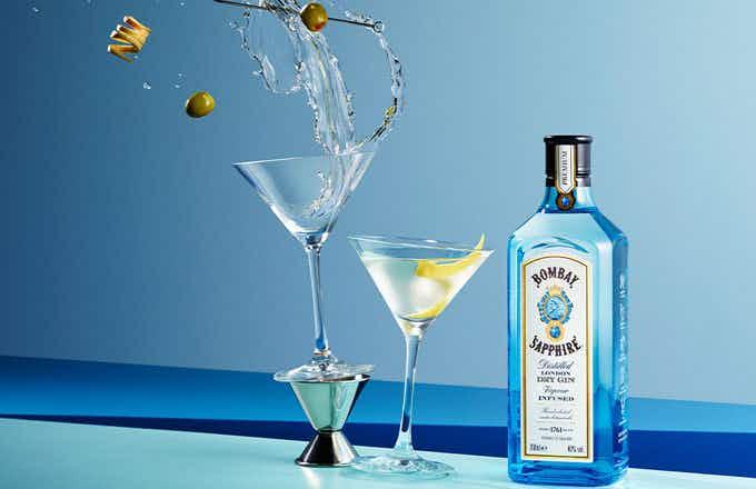 Bombay Sapphire Martini Cocktail