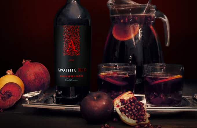 Apothic Red Rebellious Red Sangria